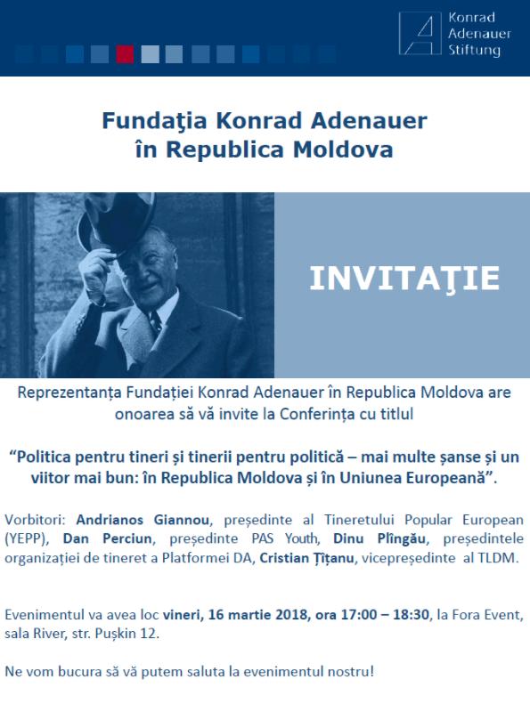 Fundația Konrad Adenauer în RM
